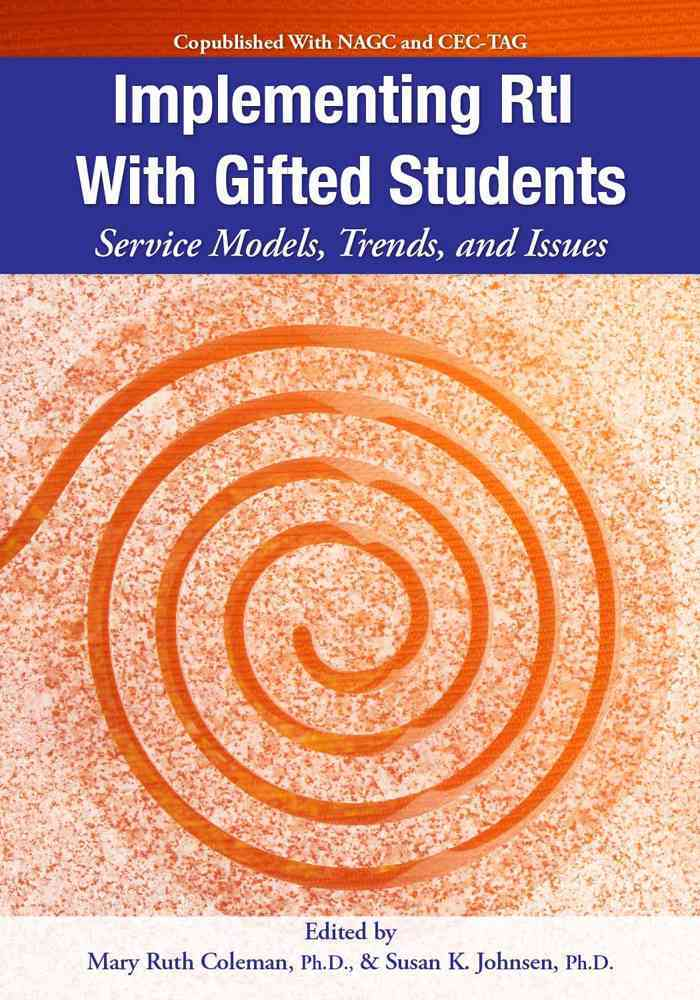 Implementing Rti With Gifted Students By Johnsen, Susan K./ Coleman, Mary Ruth